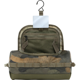 The North Face Base Camp Reis Toilettas L, burnt olive green waxed camo print